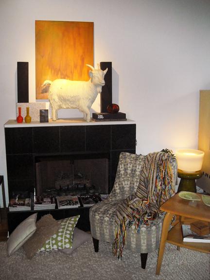 Kevin Grace's living room.