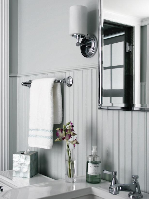 Bathroom designed by Karl Sponholtz.