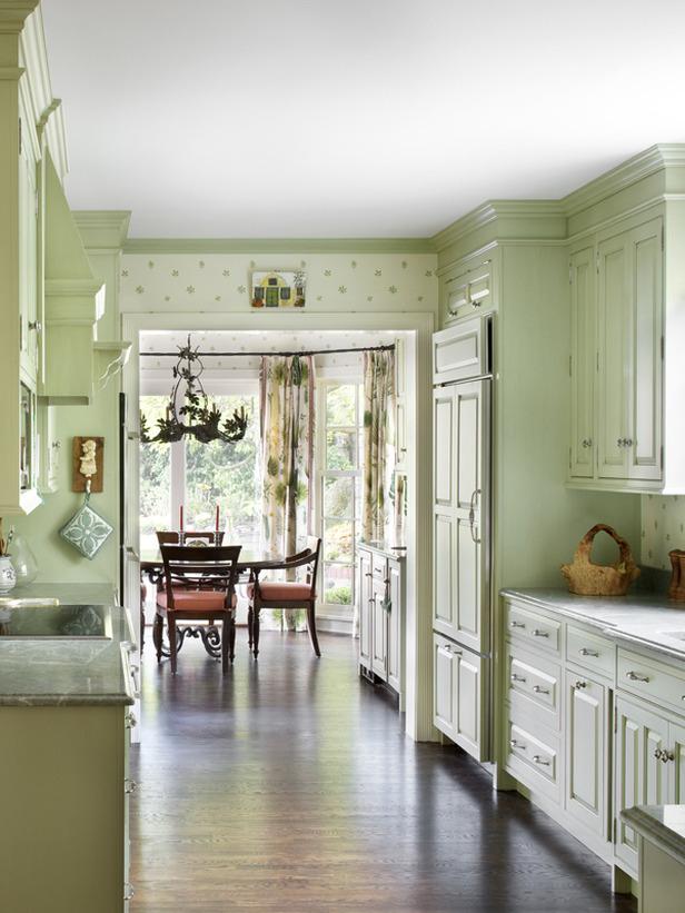 Kitchen designed by Karl Sponholtz.
