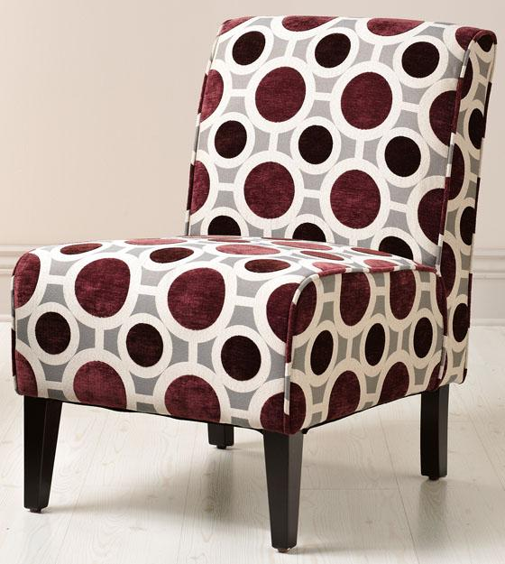 Vincent Slipper Chair in Mulberry, $159 (reg. $199).