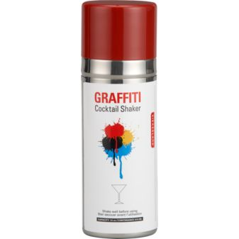 Graffiti Cocktail Shaker, $19.95.