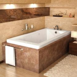 Venetian white 72x36 Soaker Tub, $786.99 via Overstock.