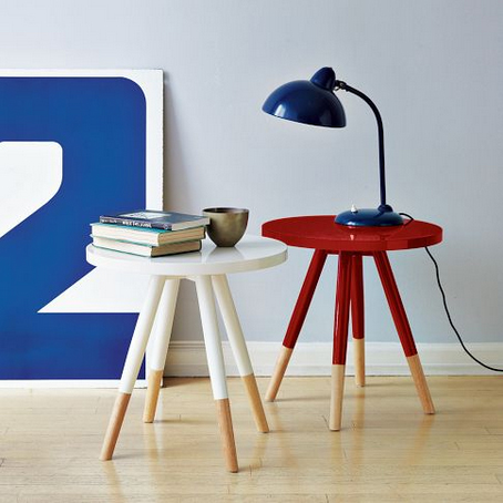 Dipped Side Tables, $129.