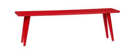 Baja Red Bench, $299.