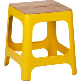 Hitch Stool in Marigold, $169.