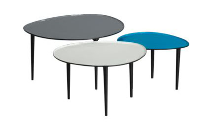 Lucent Nesting Tables, $349.