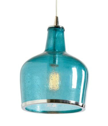 Addie Pendant in Aqua, $129 on sale (reg. $189).