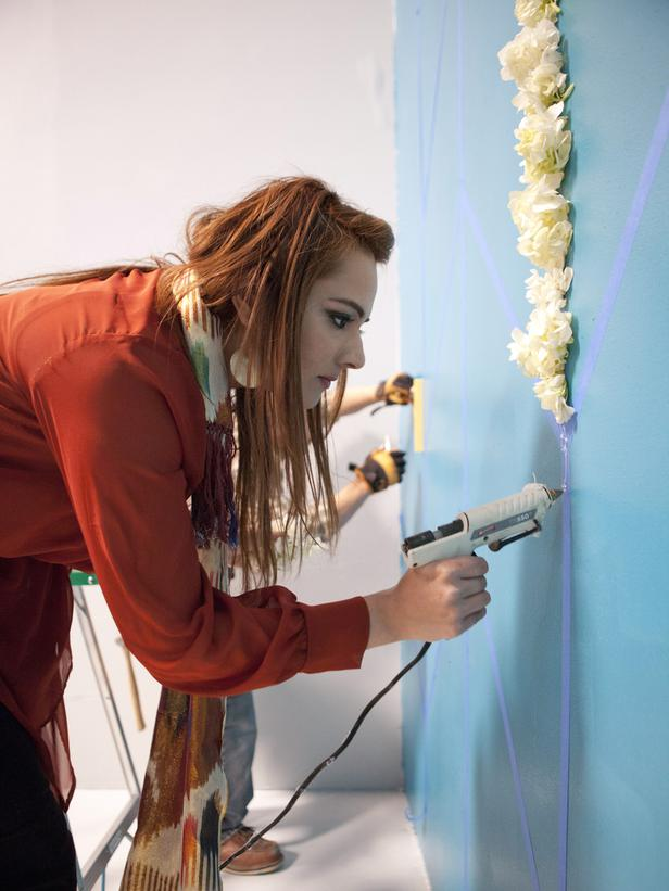 Saadia Kibriya channels her inner Crafting Queen.
