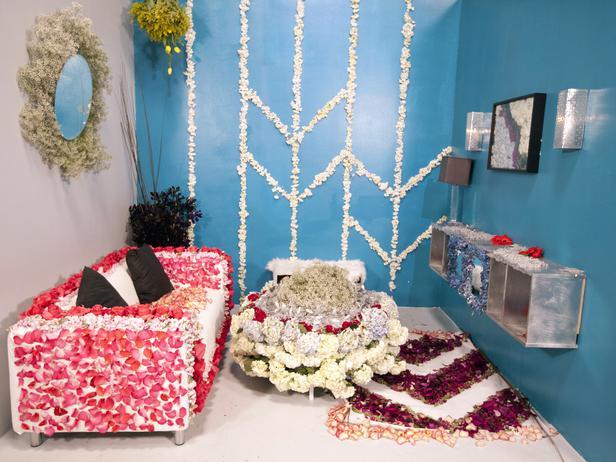 Saadia Kibriya's living room design.