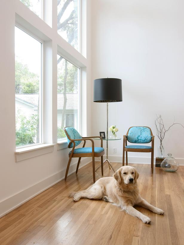 Two chairs, a lamp and a dog do not a portfolio piece make.