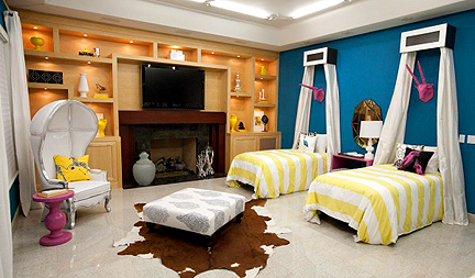 Britany's and Mikel's bedroom design.