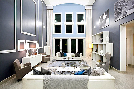Danielle and Luca work together to design this great room.