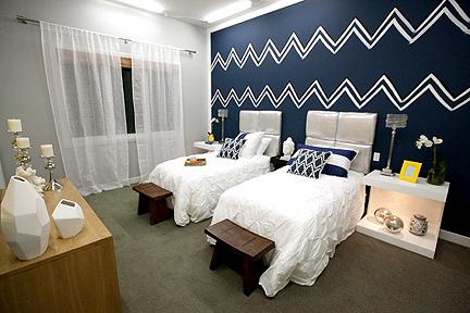 Jordan's and Miera's bedroom design.