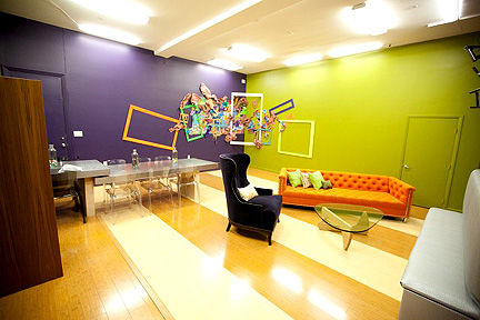 Stanley and Yuki eff up the designers' new studio.
