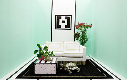 Hilari Younger's minty turtle room.