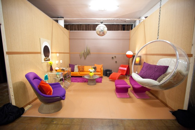 Kris Swift's '70s basement.