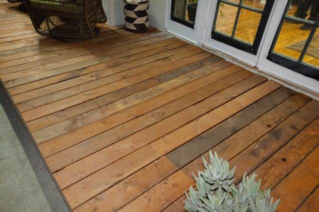 AFTER: Yep, Stanley, that's a deck alright.