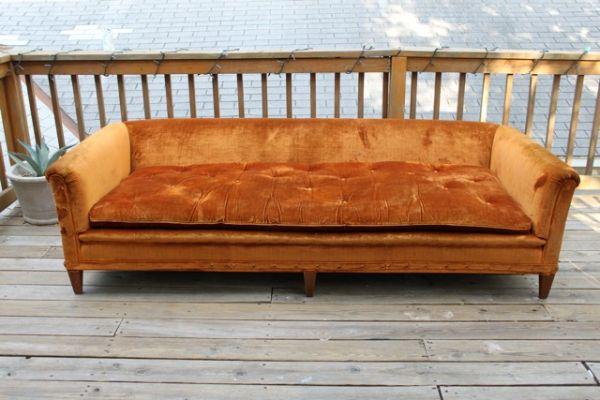 Mid-century sofa, $350, OBO.