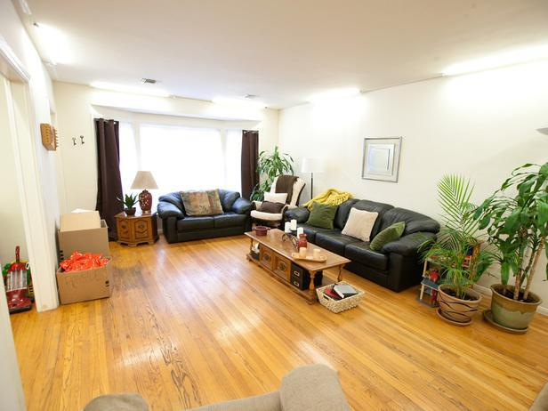 BEFORE: Britany Simon will makeover this living room for her mini-pilot, Picture Perfect Spaces.