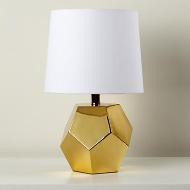 Between a Rock Lamp Base, $69. (Shade sold separately--BOO!)