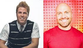 Design Star alumni Jason Champion and Matt Locke.