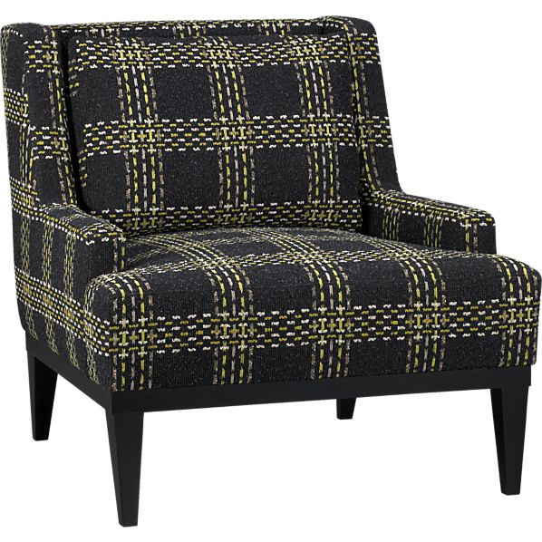 Donegal Chair In Presley: Midnight, $1,299.