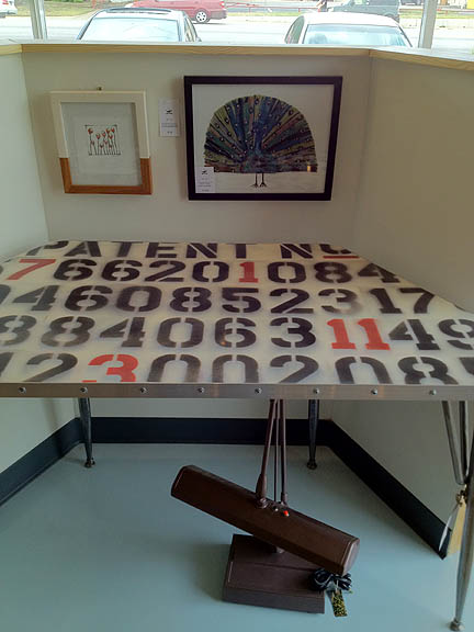 Patent Number Table by Hopscotch Road (Austin), $1,050.