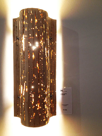 Wormwood Sconce by Green Summit (Austin), $225.