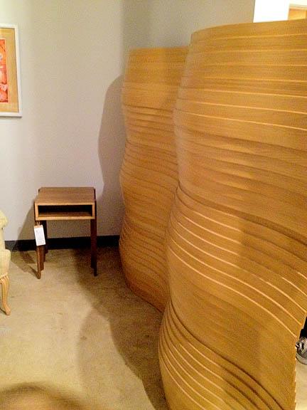 Lindsay Room Divider by Leslie Webb (Austin), $2,900.