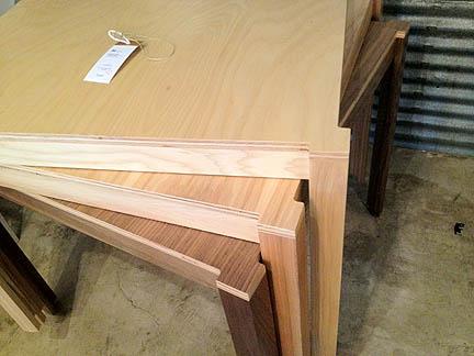 Staple Bar Tables by Hatch Workshop (Austin), $590.