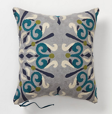 Anthropologie's Jacobean Pillow (Small), $78.