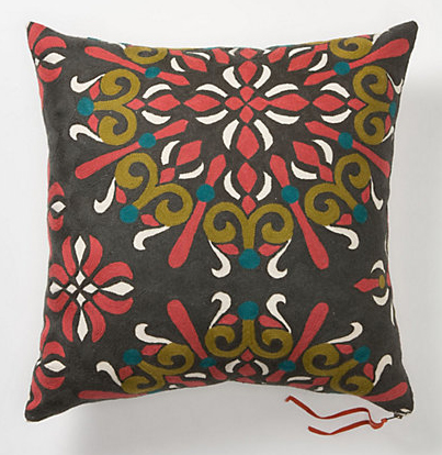 Anthropologie's Jacobean Pillow (Large), $98.