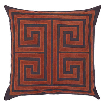 ZGallerie's Athens Pillow in Flame, $69.96.