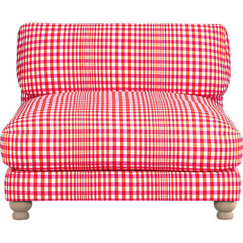 Piazza Gingham Chair, $899.