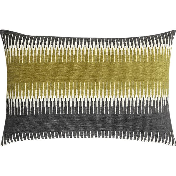 Crate & Barrel's Moyen Pillow, $69.95.