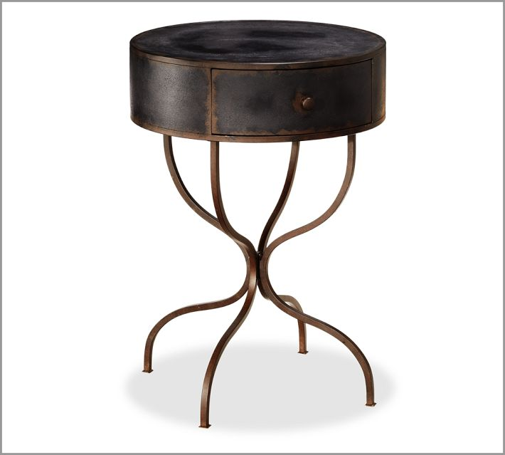 Brussels Bedside Pedestal Table, $299.