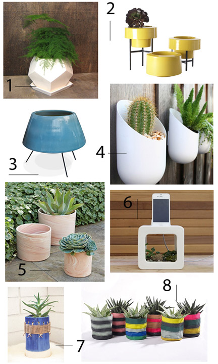 Secrets of a Stylist host Emily Henderson shares her favorite planters.