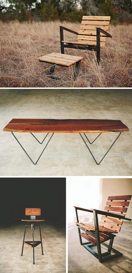 Petrified Designs' fab furniture, available at Mockingbird Domestics.