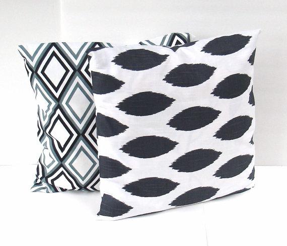 creativeladys-modern-black-white-gray-grey-pillow-cover