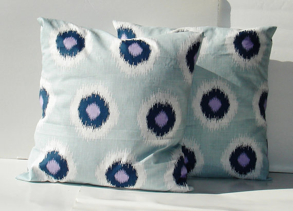 creativeladys-modern-purple-lavender-blue-navy-white-gray-grey-pillow-cover-ikat-circles