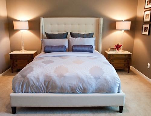 Simple & Serene Austin Master Bedroom