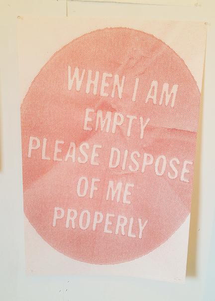 Satch Grimley print empty