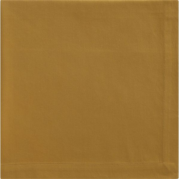 Cotton Mustard Napkin, $2.95 @ Crate & Barrel.