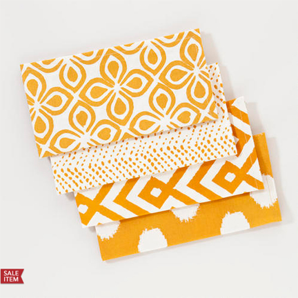 Amber Mombasa Napkins, Set of 4: $12.79 @ World Market.