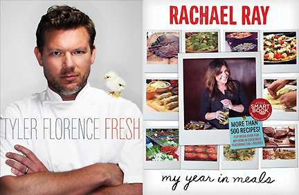 Upcoming book signings at Austin's BookPeople include Tyler Florence and Rachel Ray.