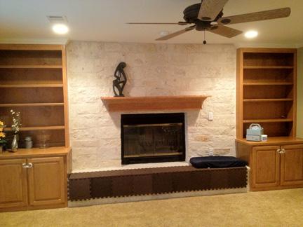 BEFORE: Natasha's Living Room pre-makeover.