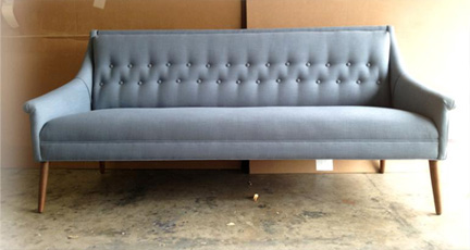 Arcadia Sofa, a modern, tufted sofa available at Five Elements Furniture in Austin, TX for $799.