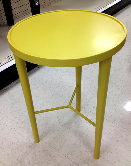 Cute Grellow Side Table ...