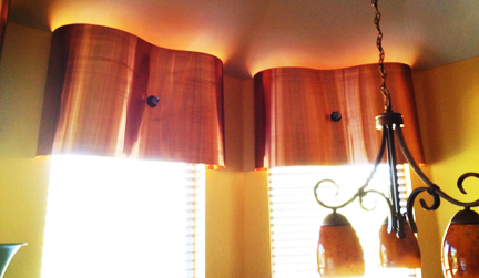 Window Treatment Modern Copper Valances Austin Interior