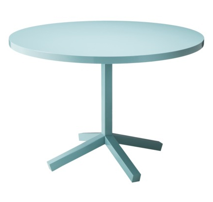 Exceptionnel TOO By Blu Dot Platten Round Dining Table In Blue ...